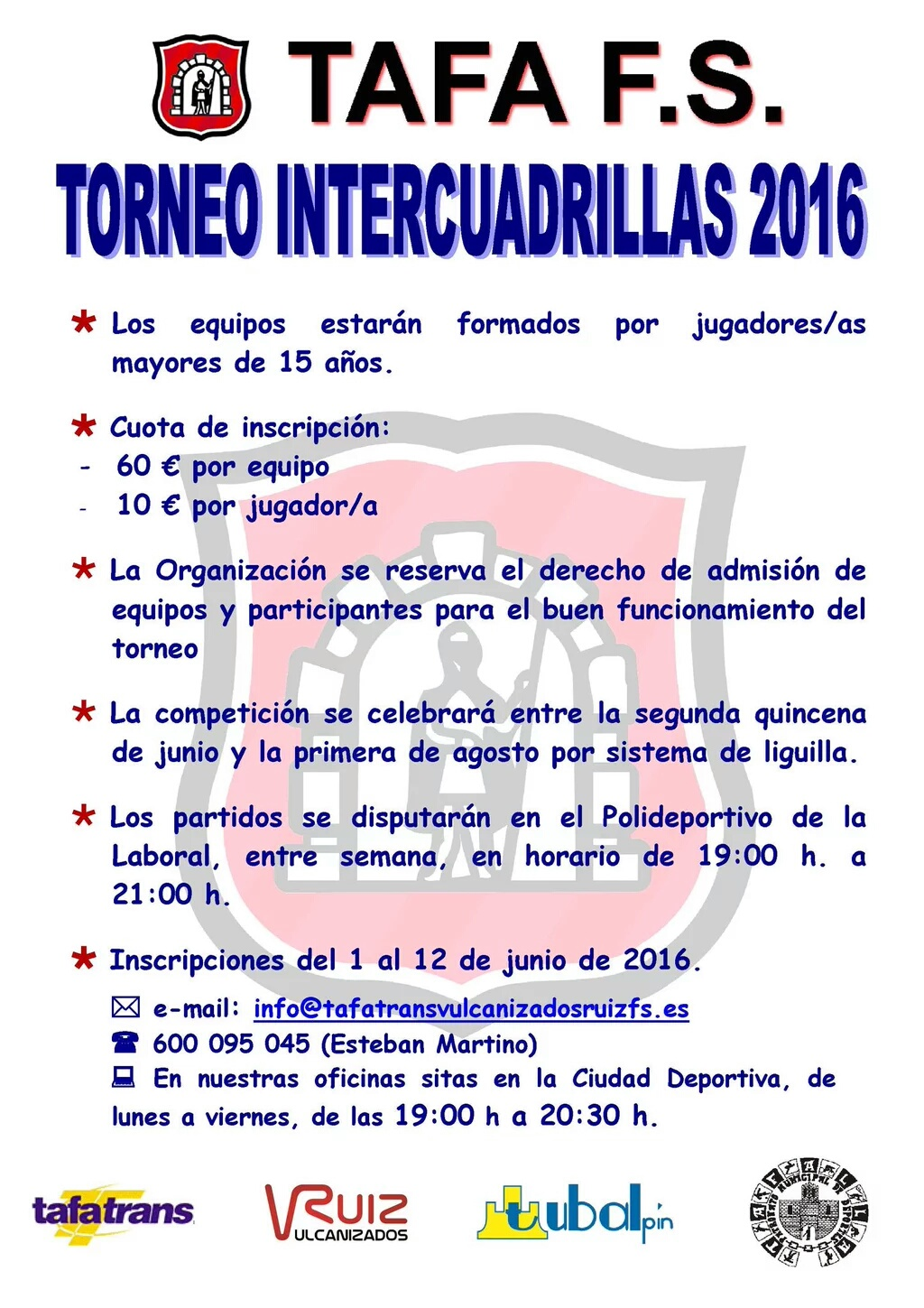 Cartel Intercuadrillas