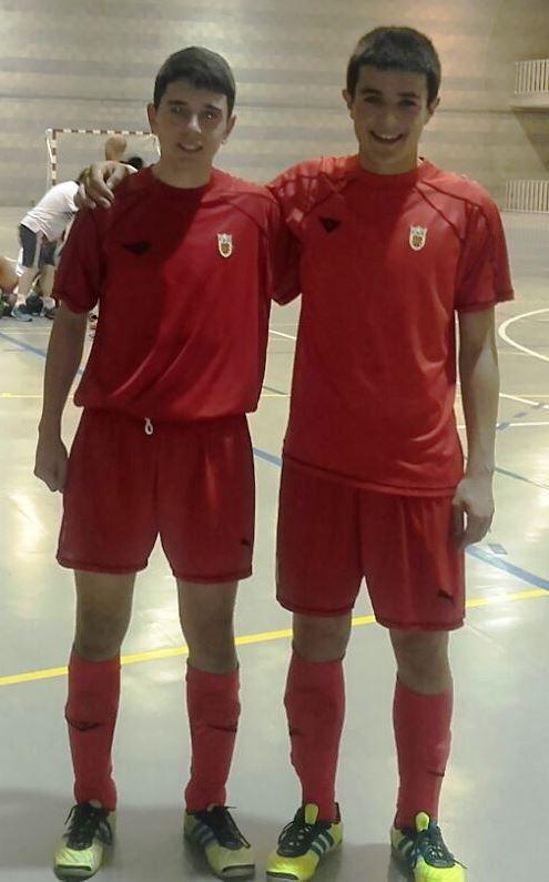 Unai e Iñigo (Sub-19)